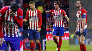 Atletico's centre-halves