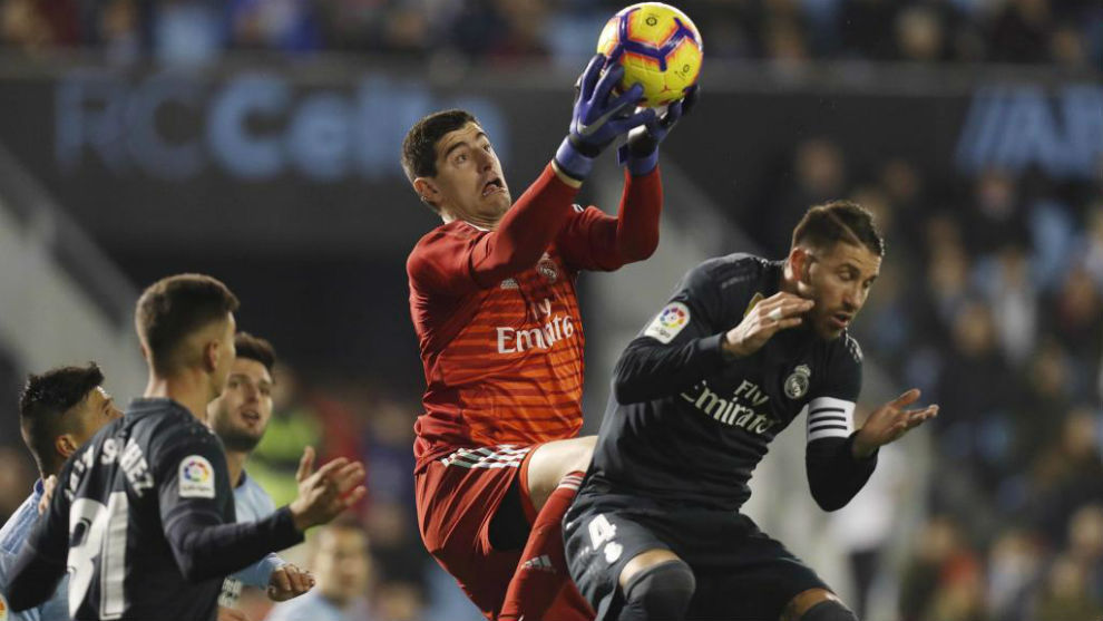 Celta Vigo Vs Real Madrid: Courtois