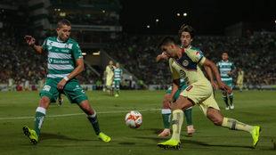 Santos vs América minuto a minuto.