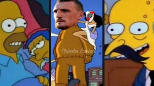 Boca Juniors y River Plate empataron 2-2 en el partido de ida de la...