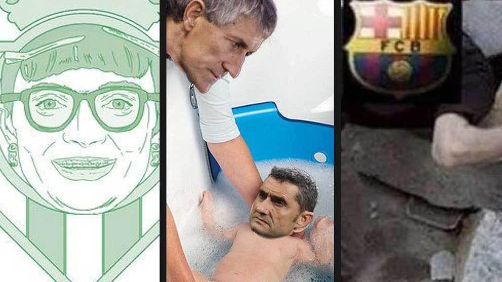 La victoria 3-4 del Real Betis contra el Barcelona agitó las redes...