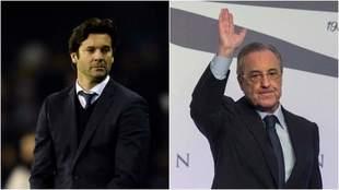 Solari y Florentino se verán las caras esta semana.