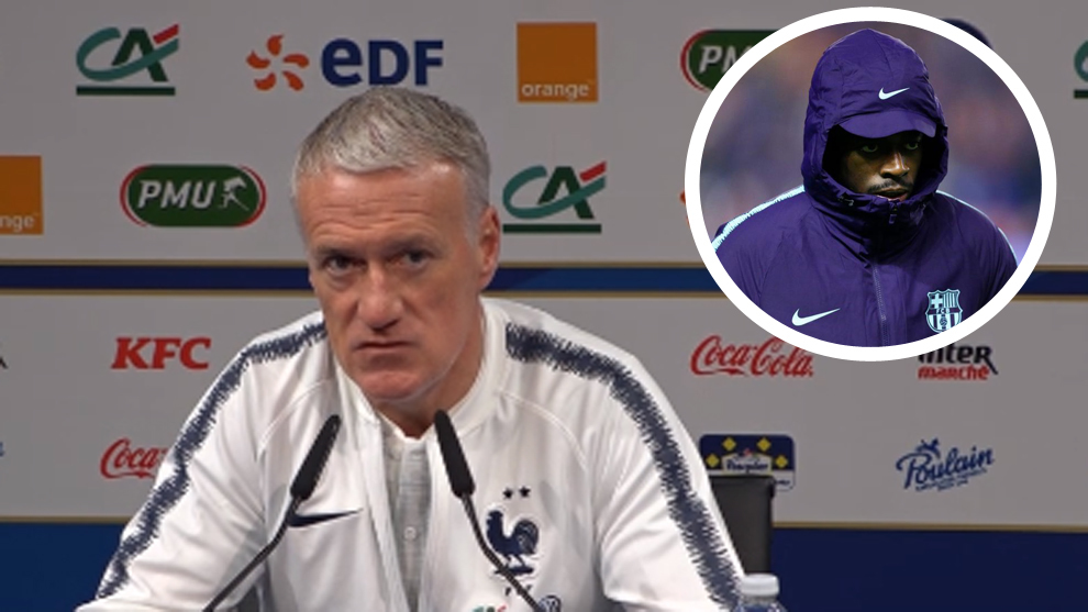 Deschamps to Dembele: I know your excuses when you're late