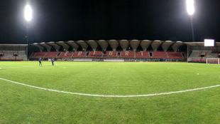 Panorámica del estadio donde se disputará el partido.
