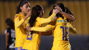 Tigres Femenil es líder absoluto del torneo.