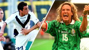 Mario Méndez y Luis Hernández jugaron en dos equipos importantes de...