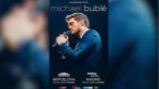 Michael Bublé anuncia dos conciertos en España en septiembre de 2019