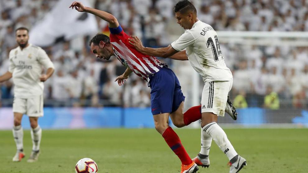 Godín y Casemiro atraviesan problemas físicos