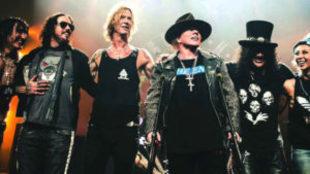 Así luce Guns N' Roses en la gira 'Not in this...
