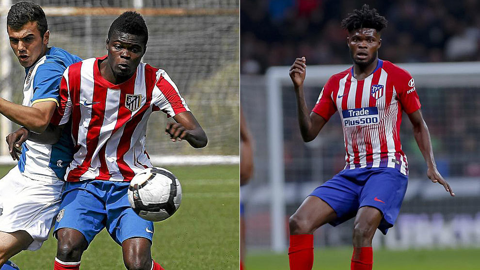 a8e81539f3c Thomas played 33 games for Atletico B before moving to Mallorca and Almeria  on loan. He impressed and earned a place in the Rojiblancos first team and  he ...