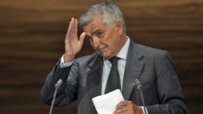Juan Antonio Samaracnh, miembro del Comité Olímpico Internacional.