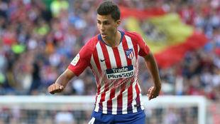 Rodrigo, con el Atlético.