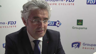 Marc Madiot, director general del Groupama-FDJ