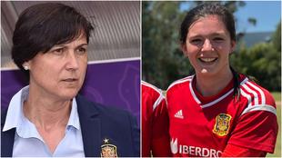 Tola Is y Paula Suárez, protagonistas de la selección Sub'17...