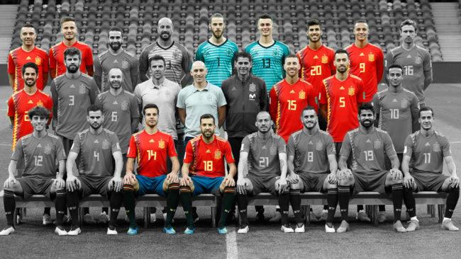 Sólo siguen once de los jugadores que convocó Lopetegui para Rusia.