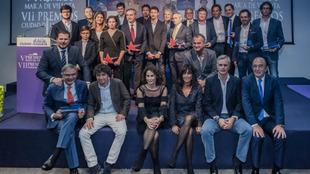 Premiados y jurados de los premios Ciudad de la Raqueta - María de...