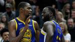 Tensión en los Warriors: Durant y Green trasladan su bronca de la pista al vestuario