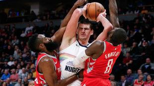 Gran juego en la NBA.