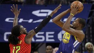 Gran juego de Durant.