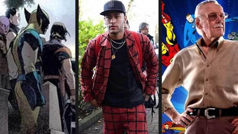 Casillas, LeBron y Neymar homenajean a Stan Lee... con Ronaldinho como superhéroe infiltrado