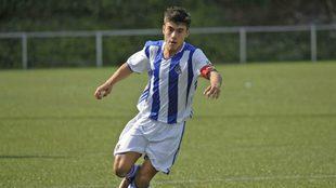 Ander Barrenetxea podría debutar mañana con la Real con sólo 16...