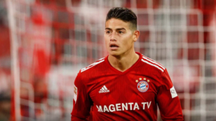 James Rodriguez suffers a knee injury that could keep him out until 2019