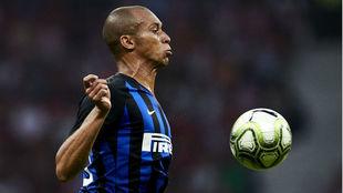 Joao Miranda, en un partido con el Inter.