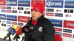 Luis Mendoza habla en conferencia de prensa