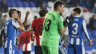 Herrerín paró un lanzamiento en la tanda de penaltis.