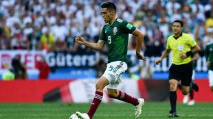 México venció a Alemania en el Mundial Rusia.