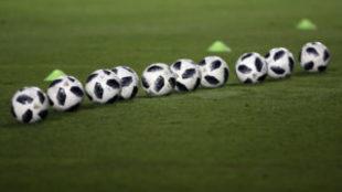 Balones en el Estadio Universitario