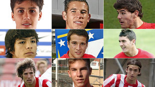Some promising players in Atletico's academy.