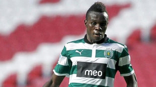Bruma, en un partido con el Sporting.