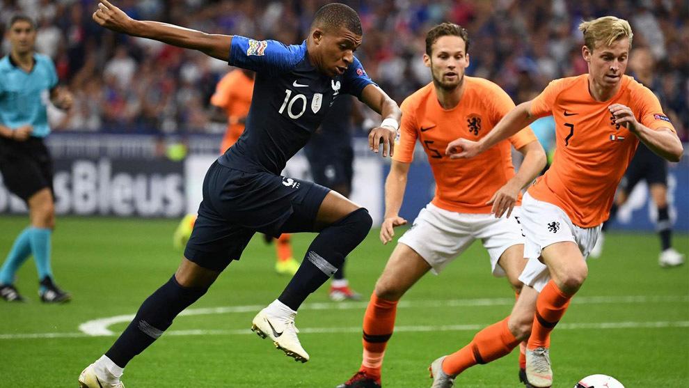 Mira Holanda vs Francia en vivo y online por la UEFA Nations League