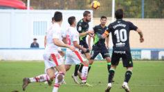 Imagen del partido amistoso entre el Eibar y el Huesca disputado en...