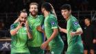 Ricardinho celebra u primer gol en Europa esta temporada.