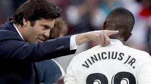 Santiago Hernan Solari and Vinicius Junior
