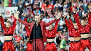 Robbie Williams aparecerá el sábado 17 de noviembre.