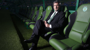 Bruno de Carvalho, ex presidente del Sporting de Portugal.