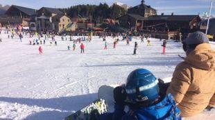 Los esquiadores que escogen Pal Arinsal repiten
