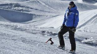 Corrado Momo es el entrenador del equipo RFEDI de alpino.