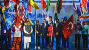 Ceremonia de inauguración del Mundial femenino de boxeo en la India.