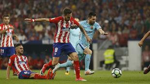 Saul and Messi.