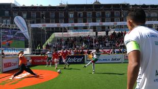 México mantuvo el invicto tras golear 11-3 a Dinamarca