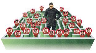 Luis Enrique and his Labyrinth.