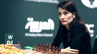 Kateryna Lagno , durante este Mundial.