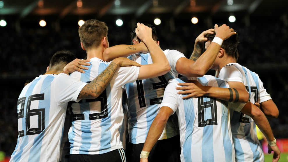 Argentina lay the foundations