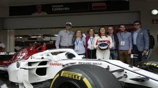 Tatiana Calderón debutó en el fin de semana del GP de México. |...