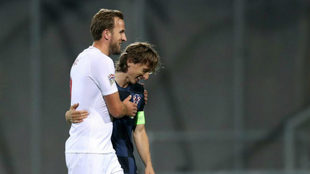 Harry Kane and Luka Modric