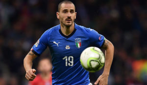 Bonucci on whistles from the Milan crowd: The imbeciles' mother is always pregnant